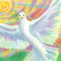 Peace Dove Rising