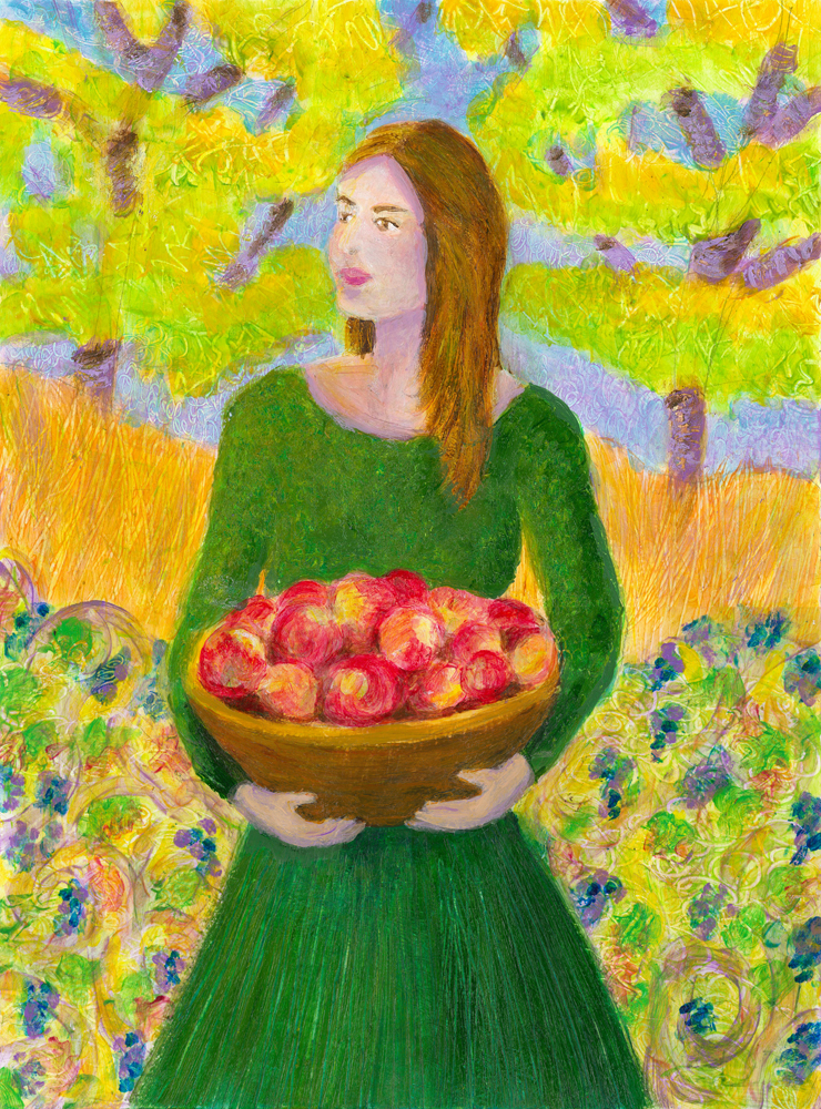 virgo-woman-apples-1000